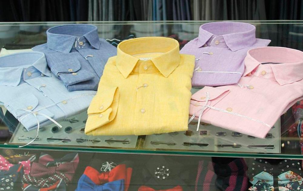 Итальянский хлопок в производстве рубашек GLASMAN