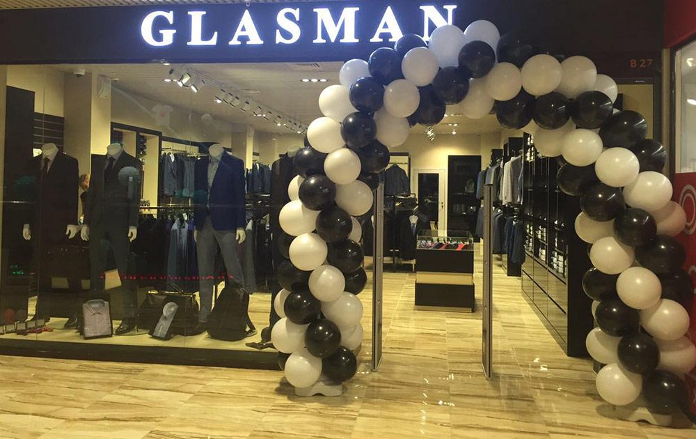 Магазины Glasman в Астане