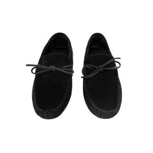 Мокасины AG-2014-01-black-suede