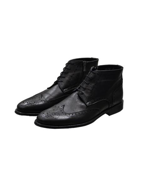 Зимние ботинки броги