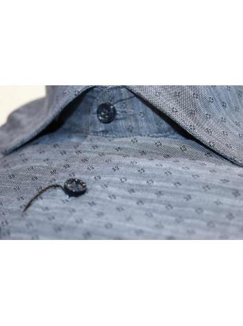Мужская полу-приталенная рубашка