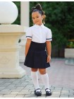 Школьная юбка в широкую складку