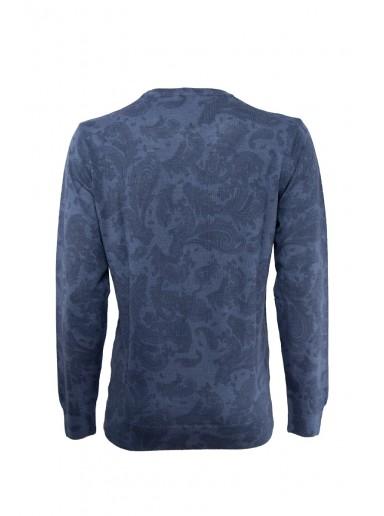 Пуловер 20208025-BLUE