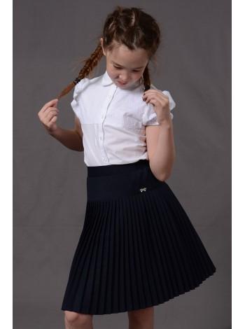 Школьная юбка | мелкая плессировка